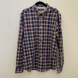 🧡3 for $25🧡 Ben Sherman plaid men's shirt